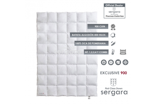 Piumino d´Oca Sergara Exclusive 900 | Bambino