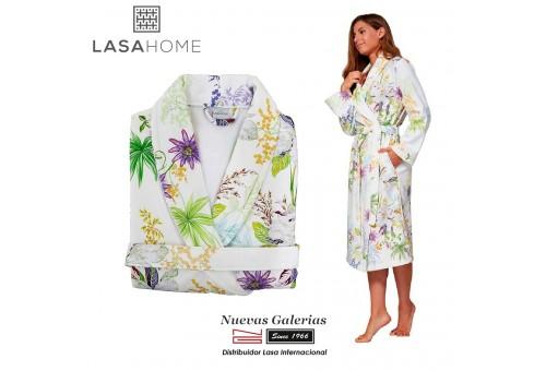 Albornoz Algodón & Terciopelo Lasaint | Lilly