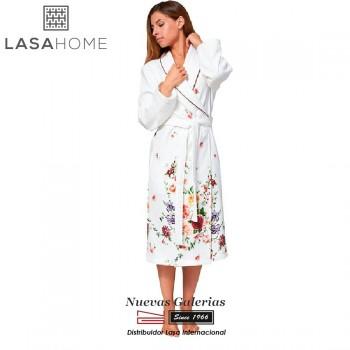 Albornoz Algodón & Terciopelo Lasaint | Bouquet