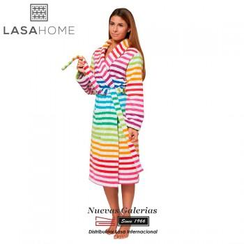 Albornoz Algodón & Terciopelo Lasaint | Joyce Multicolor
