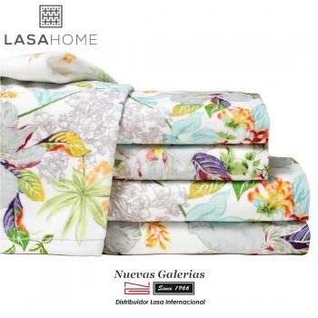 Asciugamani in cotone & velluto jacquard | Lilly