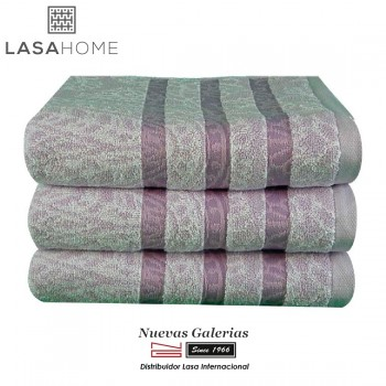 100% Cotton Bath Towel Set Violet | Kashmir