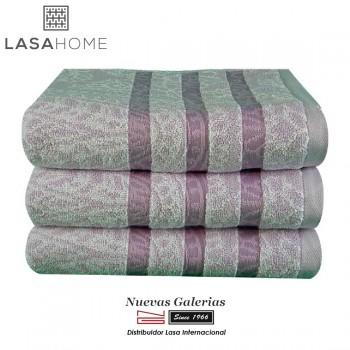 Handtuch Set Baumwolle Lila | Kashmir