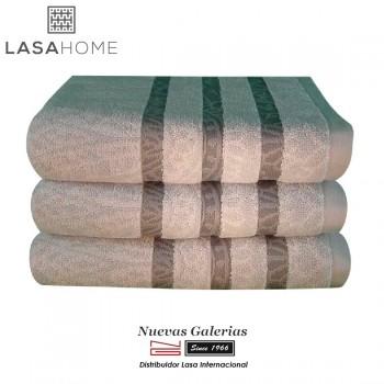 Handtuch Set Baumwolle Grau | Kashmir