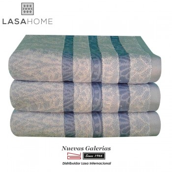 100% Cotton Bath Towel Set Blue| Kashmir