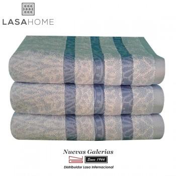 Asciugamani in cotone Blu| Kashmir