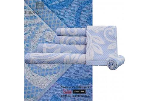 100% Cotton Bath Towel Set Blue | Baltus