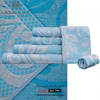 100% Cotton Bath Towel Set Green | Baltus