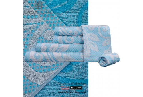 100% Cotton Bath Towel Set Green | Baltus