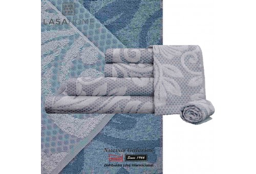 100% Cotton Bath Towel Set Gray | Baltus