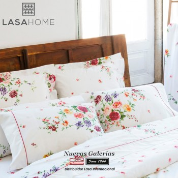 Lasaint Sommerbettwäsche Baumwolle 200 Fäden | Bouquet