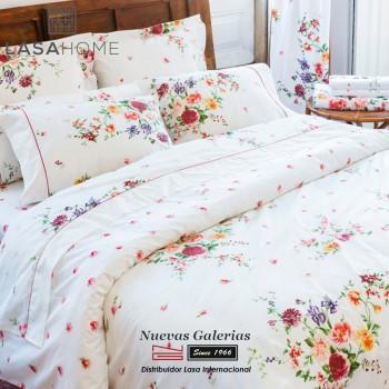 Lasaint Bettwäsche Baumwolle 200 Fäden | Bouquet