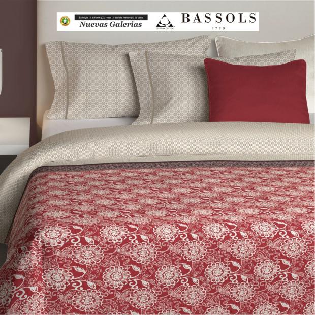 Bassols Trapunte Dhalia | Bassols - 1 Dhalia piumino di Bassols 100% cotone egiziano Raso mercerizzato 200 fili. Ripieno 140 gsm