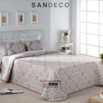 Colcha Jacquard Sandeco | Saca Beig