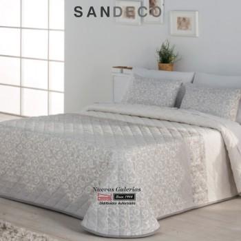 Colcha Jacquard Sandeco | Ideal Gris