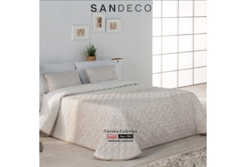 Colcha Jacquard Sandeco | Ideal Beig
