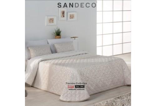 Copriletto Trapuntato Sandeco | Ideal Beig