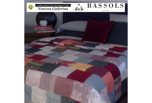 Steppdecken Patchwork | Bassols