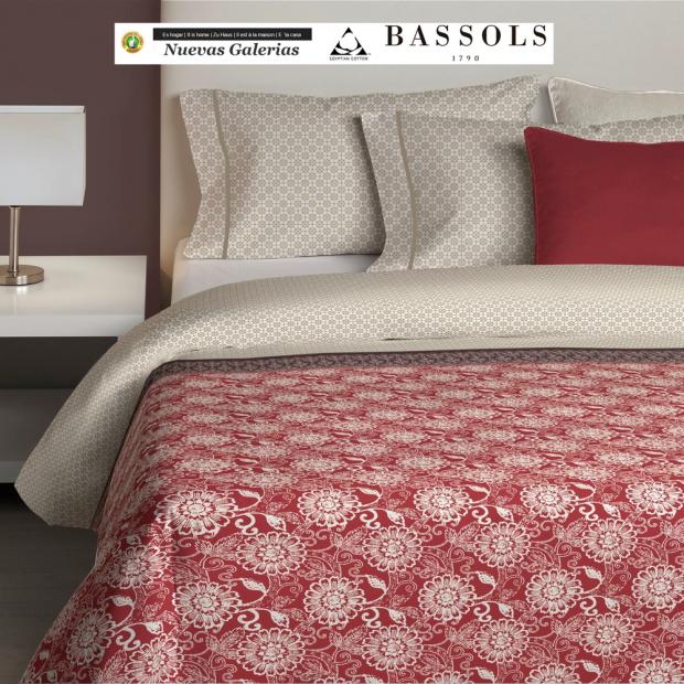 Bassols Copripiumino Dahlia | Bassols - 1 Copripiumini Dahlia by Bassols 100% cotone egiziano satinato jaquard con trama da 200