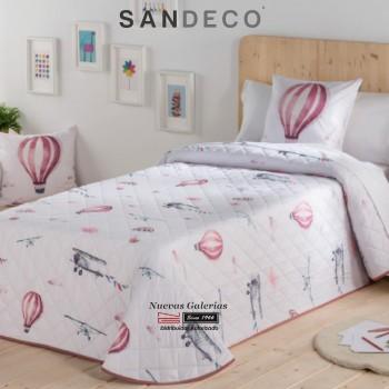 Copriletto Bouti per Bambini Sandeco | Velo Rosa