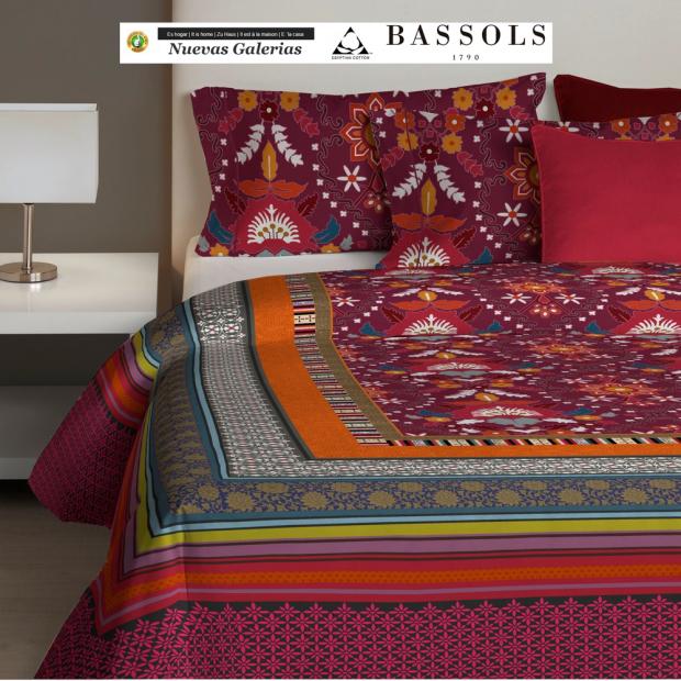 Bassols Bettwäsche Bassetti Thada | Bassols - 1 Bettwäsche Thada von Bassols 100% ägyptische Baumwolle aus ägyptischer Baumwoll