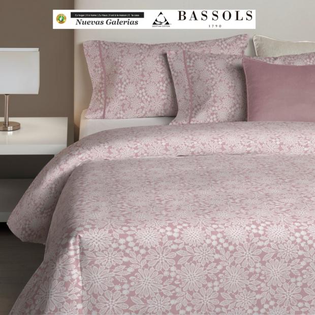Bassols Copripiumino Aster Rosa   Bassols - 1 Copripiumino Aster Rosa by Bassols 100% cotone egiziano filo a mercerizzato 200 fi