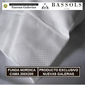 Funda Nórdica Cama 200x200 Soho Bl | Bassols