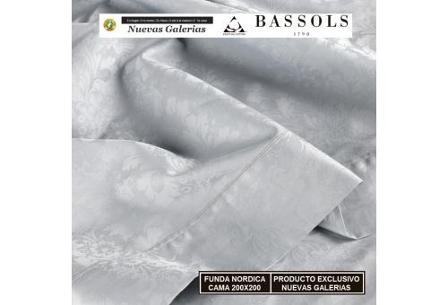 Bassols Bettwäsche Bassetti Cama 200x200 Jade Gris   Bassols - 1 Bettwäsche Jade KINGSIZE Gray of Bassols 100% ägyptische Baumw
