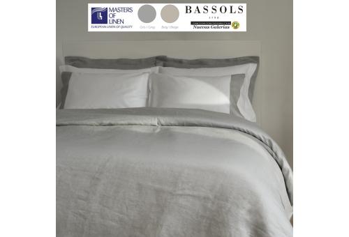 Bassols Copripiumino Bassols | Grace 100%Lino - 1 Copripiumini Grace di Bassols 100% fibra di lino Maestri di lino. 3 pezzi di g