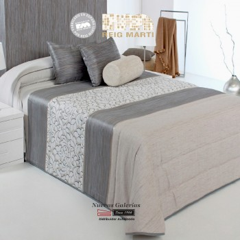 Jacquard Quilt Reig Marti | Fit 3B-08 Gray
