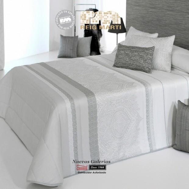 Jacquard-Quilt Reig Marti | Amanda 3B-18 Grau