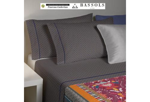 Bassols Sheet Set Bassols | Gathi - 1 Sheet Set Gathi de Bassols 100% Algodón Egipcio Mercerizado 200 hilos.3 piezas,Calida