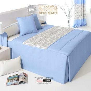 Steppdecken-Tagesdecken Reig Marti | Grandy 1-03 Blau