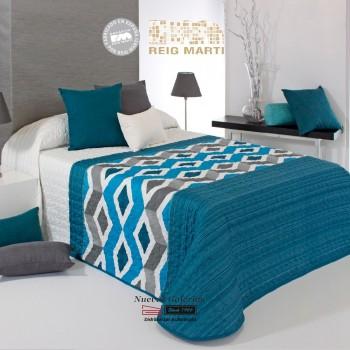 Reig Marti Bouti Bedspred | Morgan 2P-03 Blue