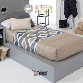 Reig Marti Fitted comforter | Morgan AG-01 Beig