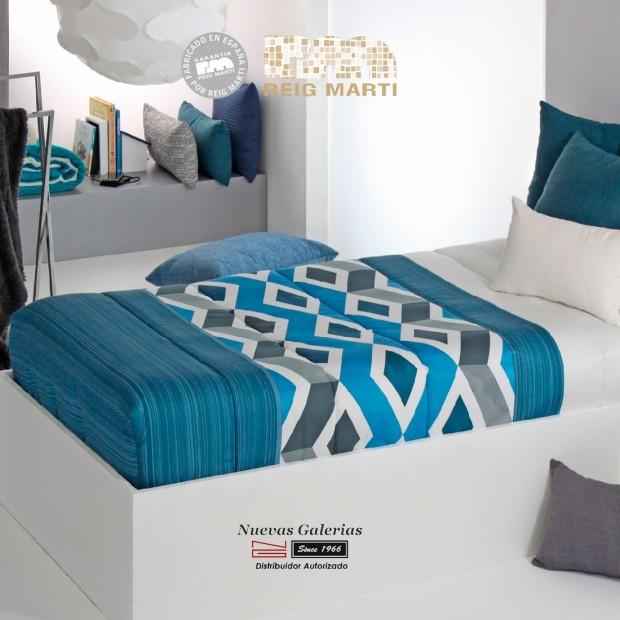 Verstellbare-Quilt Reig Marti | Morgan AG-01 Blau