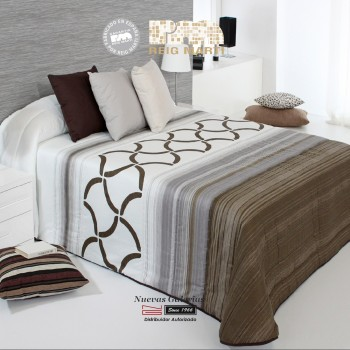 Quilt Reig Marti | Morgan 2A-01 Brown