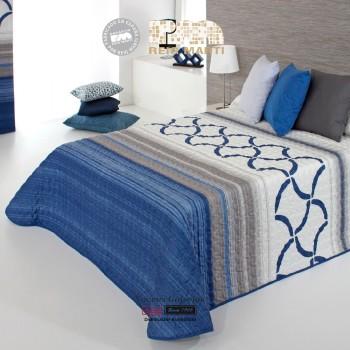 Reig Marti Bouti Bedspred | Twist 2P-03 Blue