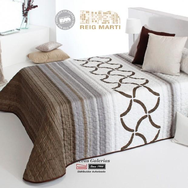 Reig Marti Bouti Bedspred | Morgan 2P-05 Brown