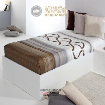 Verstellbare-Steppdecken Reig Marti | Twist AG-05 Braun