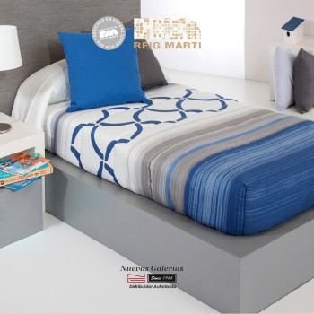 Reig Marti Fitted comforter | Twist AG-03 Blue