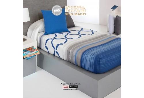 Edredon Ajustable Reig Marti | Twist AG-03 Azul