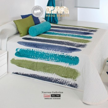 Reig Marti Bedcover | Chandler 03 Blue