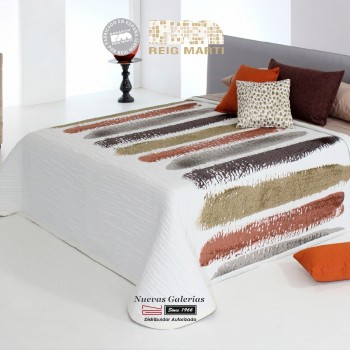 Reig Marti Bedcover | Chandler 05 Brown