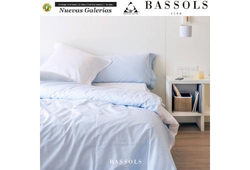 Bassols Sommerbettwäsche Bassetti Tebas | Bassols - 1 Sommerbettwäsche Bassols Thebes 100% ägyptische Baumwolle Mercerisiert 20