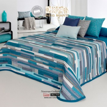 Reig Marti Bedcover | Mate 03 Blue
