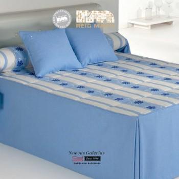 Couvre-lit d´hiver Reig Marti | Bakar 1-03 Bleu