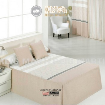 Reig Marti Bedspread Quilt | Carrara 1-01 Beig