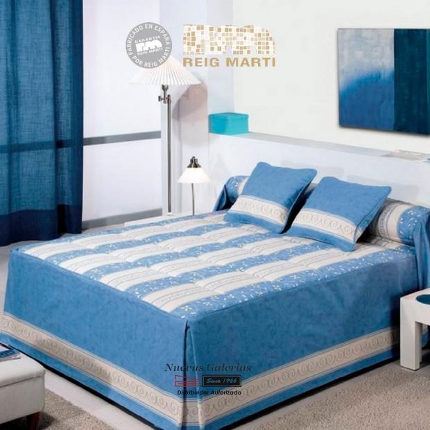 Reig Marti Bedspread Quilt | Meme 1-03 Blue