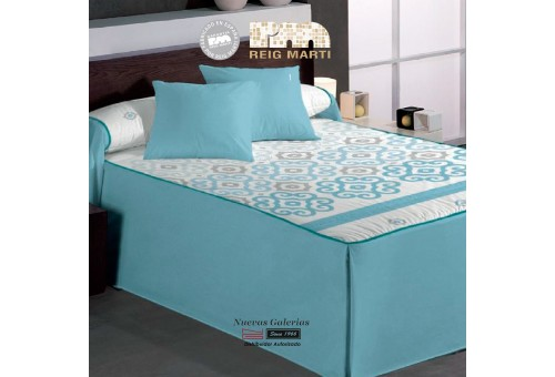 Reig Marti Bedspread Quilt | Pescara 1-03 Blue